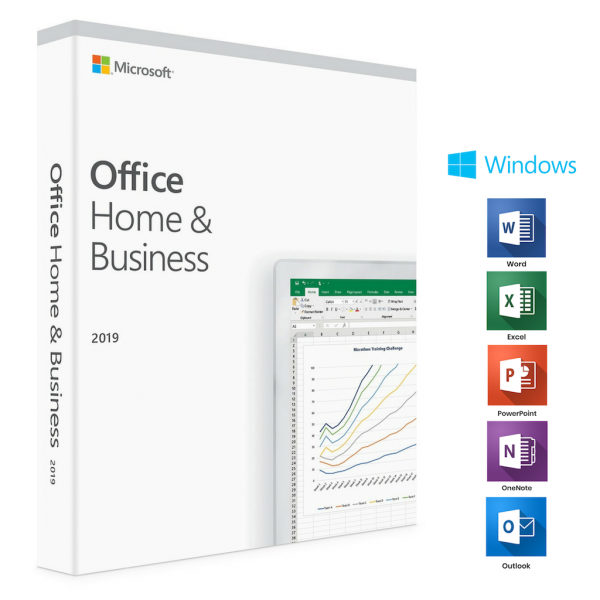 Microsoft Office 2019 Home & Business – License For PC