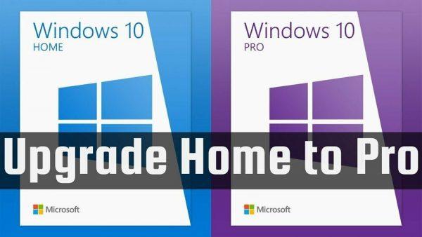 Microsoft Windows 10 Home to Windows 10 Pro Upgrade Key 2 PC