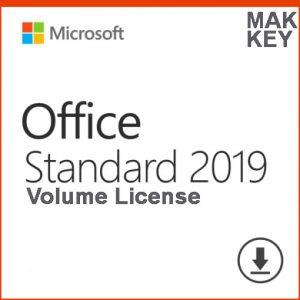 Microsoft Office Standard 2019 MAK 50 PC Product Key