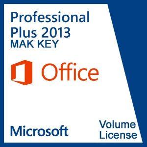 Microsoft Office Professional Plus 2013 4000 Users MAK License Key