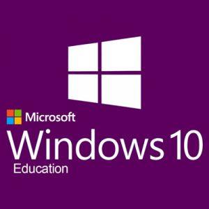 Microsoft Windows 10 Education 5PC Product Key 32/64 Bit