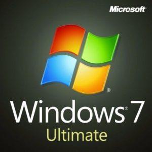 Microsoft Windows 7 Ultimate Product Key for 5 PCs